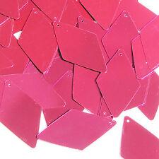 Fuchsia Pink Metallic Diamond 1.75 inch Couture Sequin Paillettes