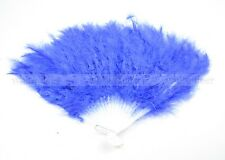 Chinese Japanese folding Feather Hand Fan U.S. Seller 7 colors to choose
