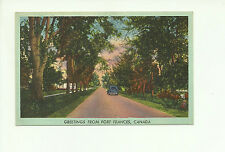 GREETING FROM FORT FRANCES, ONTARIO, CANADA VINTAGE POSTCARD