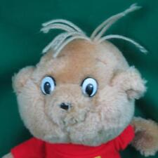 VINTAGE 1983 PLUSH ALVIN AND THE CHIPMUNKS STUFFED ANIMAL TOY WITHOUT A HAT