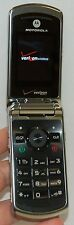 Motorola Verizon W755 Flip Cell Phone PURPLE vCast music 1.3 MP Camera bluetooth