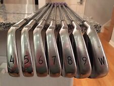 Excellent Left Hand PING S59 Tour Iron Set 4-PW. ZZ-65 Stiff Steel. LH