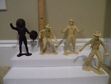 Lot of Vintage Western Figures Cowboy & Indian (Louis Marx & Co, 1964)