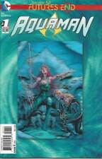 AQUAMAN # 1 FUTURES END: LONG LIVE THE DEAD KING, 3D COVER THE NEW 52, DC