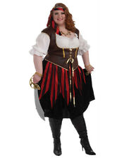 Adults Womens Sexy Pirate Lady Buccaneer Plus Size Costume 3XL XXX-Large 26-32