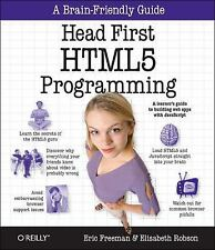 Head First HTML5 Programming : Building Web Apps with JavaScript by Eric T....