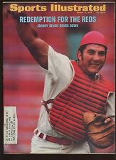 March 13 1972 Sports Illustrated Magazine With Johnny Bench Cover EX