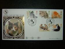 1995 CATS BENHAM BLCS101 LIMITED EDITION FDC & CPL, BIRMINGHAM SHS CV £20