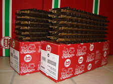 LGB 1000 STRAIGHT & 1100 R1 CURVED BRASS TRACK SET OF 24 PIECES NEW IN BOXES!