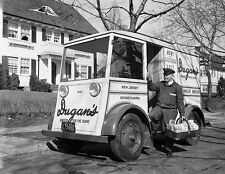 1954 The Dugan Man Bakery Truck and Driver NJ  5 x 7  Photograph