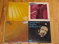 HERBIE MANN 4 LP LOT ALBUM VINYL COLLECTION Records Turtle Bay/Discoteque/Fever