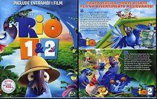 RIO 1 & 2 - BOX 2 BLU-RAY (NUOVO SIGILLATO)