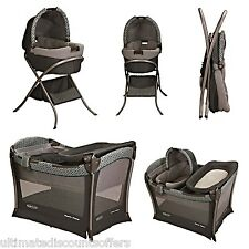 Baby Play Yard & Bassinet Childs Infant Nursery Bedding Playpen Sleeper Changer