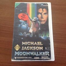 Michael Jackson MOONWALKER VHS VIDEO CASSETTE TAPE