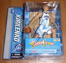 Andrei Kirilenko Signed NBA McFarlane Basketball Figure Autographed, Utah Jazz