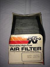 SUZUKI TS185 75 - 76  K&N AIR FILTER STOCK REPLACEMENT WASHABLE K AND N