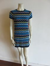 NEW MISSONI TARGET DRESS SIZE XS ZIG ZAG WEAVE, MULTI-COLOR , LINED , KNITS