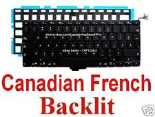 Apple MacBook Pro A1278 Keyboard - CF - Canadian French - Backlit