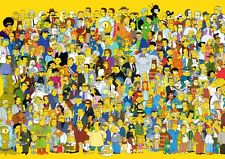 Simpsons 4 A3 Promo Poster T344