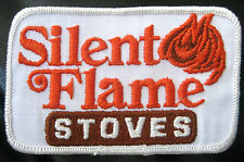 SILENT FLAME STOVES EMBROIDERED SEW ON PATCH  WOOD STOVE FIREPLACE UNIFORM