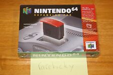N64 Nintendo 64 Expansion Pak - NEW SEALED V-SEAM NM, RARE NINTENDO BRAND!