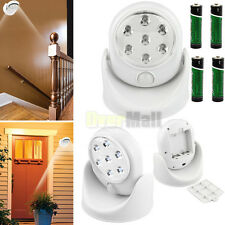 7 LED Bright Auto PIR IR Infrared Motion Detector Security Light Wireless Sensor