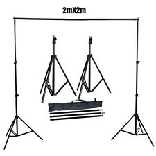2m x 2m Photo Background Backdrop Support Stand Kit for Studio Lighting Shoot UK