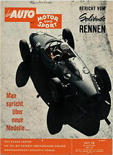 Auto Motor Sport 16 61 1961 Dethleffs Nomad Dodge Lancer Singer Vogue VW Käfer