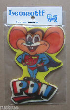 Mouse Vintage Leomotif Cloth Sew On Patch Badge Crafting Sewing