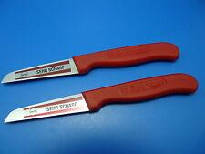 4 x Schälmesser Küchenmesser Gemüsemesser RÖR Kartoffelschälmesser Sehr scharf