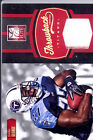eddie george chris johnson 2x dual jersey patch tennessee titans #/199 2012