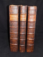 1684 FOXE'S BOOK OF MARTYRS-NINTH & BEST EDITION,LARGE FOLIOS, VERY GOOD !,BIBLE