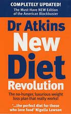 Dr. Atkins' New Diet Revolution by Robert C. Atkins (Paperback, 1999)