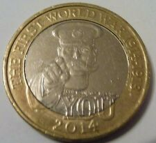 THE FIRST WORLD WAR LORD KITCHENER 2 POUND COIN RARE ROYAL MINT ERROR