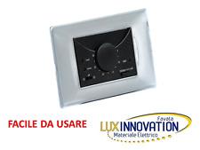 TERMOSTATO VIMAR BTICINO AMBIENTE INCASSO 503 TE215GR ANTRACITE NERO termostato