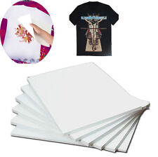 A4 Heat Transfer Paper Iron-On for Inkjet For Light Cloth Art DIY 10 Sheets