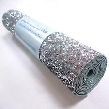 CHUNKY Glitter Material / Fabric MINI ROLL sew, glue or die cut, 18 colours