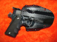 HOLSTER BLACK CARBON FIBER COLT 1911 Government 45 Auto