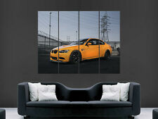BMW M3 E92 CLASSIC CAR SPEED FAST RACER RACING  ART PICTURE PRINT LARGE HUGE