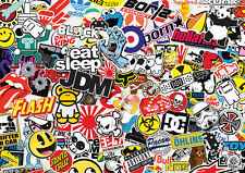 x2 JDM new sticker bombing sheets A4 sticker bomb decal VW Dub Euro style skate