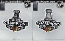 2013 & 2010 NHL Stanley Cup Final Champions Chicago Blackhawks Patch Combo