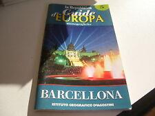 LIBRO GUIDA D'EUROPA MONOGRAFICHE LA REPUBBLICA 1999 BARCELLONA 5