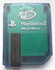 Carte Mémoire pour Sony Playstation 2 PS2 8 MB bleue MadCatz