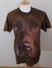 CHOCOLATE LAB FACE ADULT T-SHIRT THE MOUNTAIN Medium