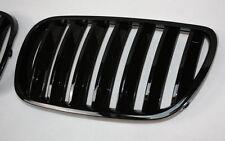 GRIGLIA RADIATORE SET PER BMW E83 X3 06-10 NERO LUCIDO PIANOFORTE BLACK