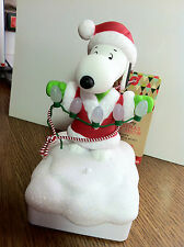Hallmark Ornaments Snoopy Peanuts Wireless band Light and Sound show 2015