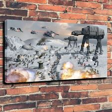 At Hoth Star Wars Art Print Oil Painting on Canvas Home Decor (Unframed)