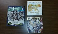 Bear Owl Wolf Horse Eagle Native American Geese Camping Lot of 3 jigsaw puzzles