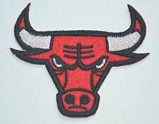 CHICAGO BULLS BASKETBALL TEAM APPLIQUE Embroidered Sew Iron On Cloth Patch Badge