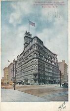 ROCHESTER NY – Powers Building, Hotel and Duffy-McInnerney Co.'s Store - 1907